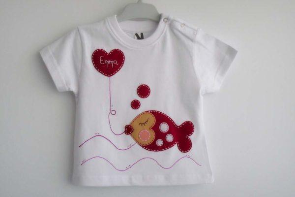 Camiseta «besuguilla»