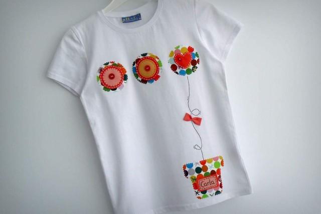 camiseta fieltro personalizada artesania hecho a mano maceta de amor-003