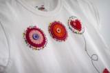 camiseta fieltro personalizada artesania hecho a mano maceta de amor-007