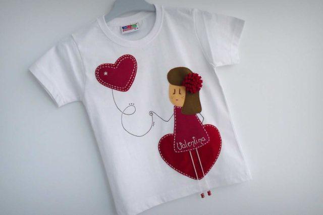 "Camiseta ""Niña enamorá"""