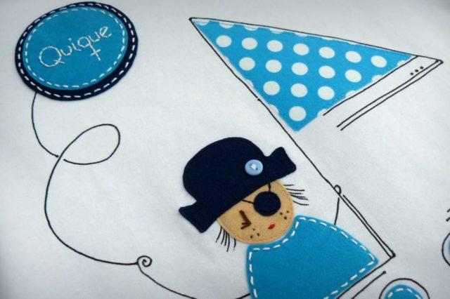 """Camiseta """"Pirata oh, oh, oh"""""""
