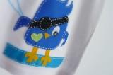 camiseta fieltro personalizada artesania hecho a mano tweet pirata 001