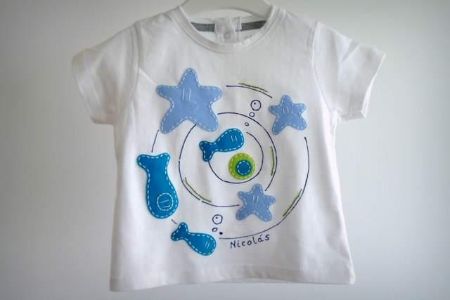 camiseta personalizada artesanal a mano remolino marino-003