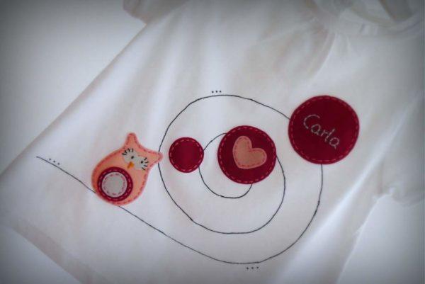 Camiseta «Buhíta enamorada»
