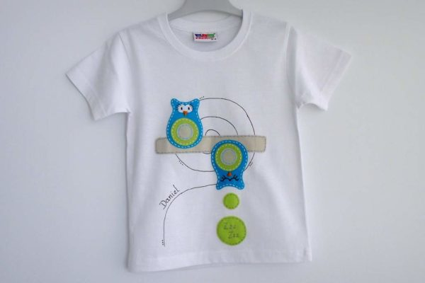 Camiseta «Búho durmiente»