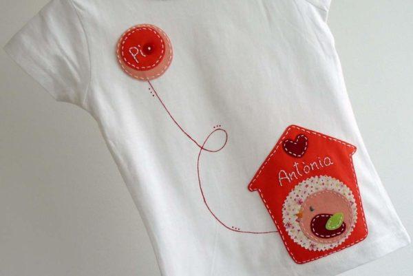 Camiseta «Casita de pájaros»