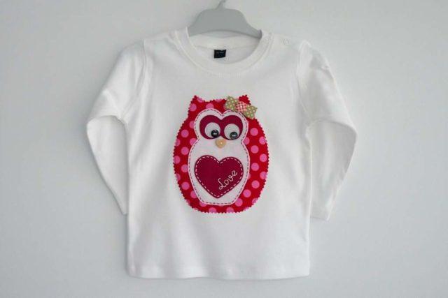 Camiseta «Mi dulce búho»