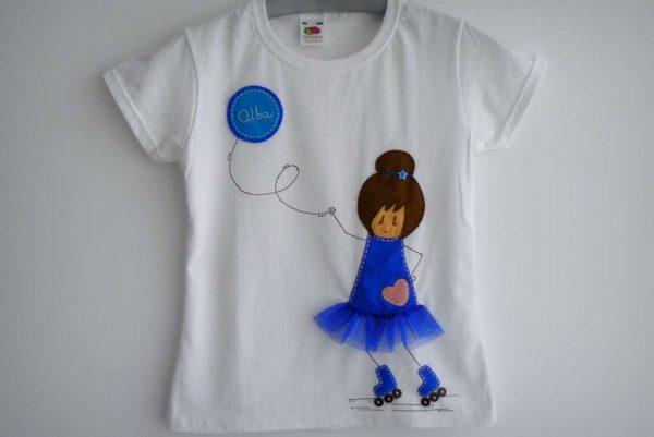 Camiseta «Patinando voy»
