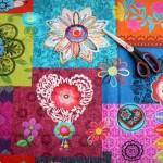 Crochet motivo grande - loneta