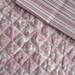 acolchado cacharel rosa - pique