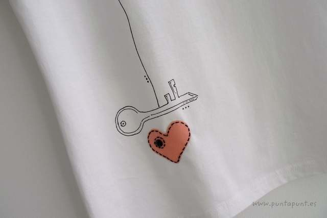 Camiseta «Donde está la llave»