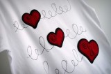 camiseta fieltro personalizada artesania hecho a mano donde esta la llave 01