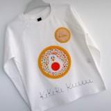camiseta fieltro personalizada artesania hecho a mano kikirikiii 02