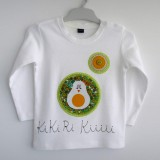 camiseta fieltro personalizada artesania hecho a mano kikirikiii 03