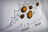 camiseta fieltro personalizada artesania hecho a mano love dinos 05