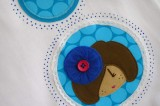camiseta fieltro personalizada artesania hecho a mano pamela de tul 03