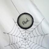 camiseta fieltro personalizada artesania hecho a mano spider