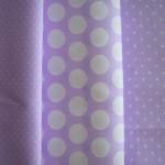 clasico lila blanco - pique