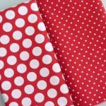 combinado topos en rojo -pique