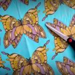 mariposas en turquesa