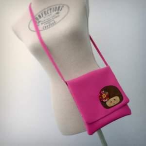 bolso bandolera simil piel mini coquetona artesania hecho a mano-001
