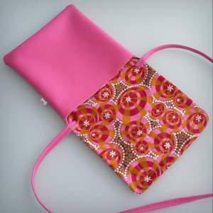 bolso bandolera simil piel mini coquetona artesania hecho a mano-003