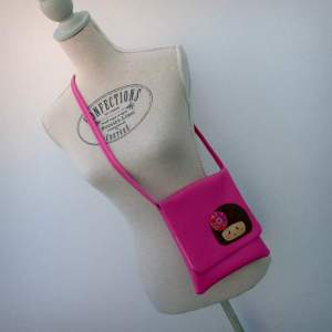 bolso bandolera simil piel mini coquetona artesania hecho a mano-007