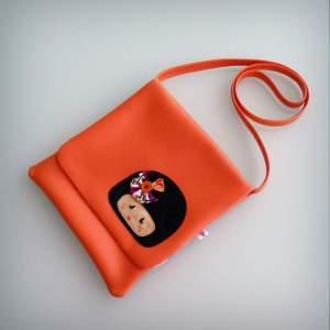 bolso bandolera simil piel mini coquetona artesania hecho a mano-008