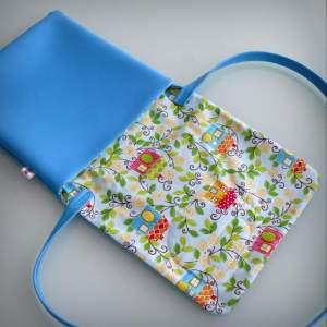 bolso bandolera simil piel mini coquetona artesania hecho a mano-011