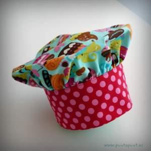 set infantil cocina cupcake gorro delantal-001