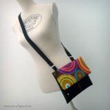 bolso lateral sideway en stock hippy and black