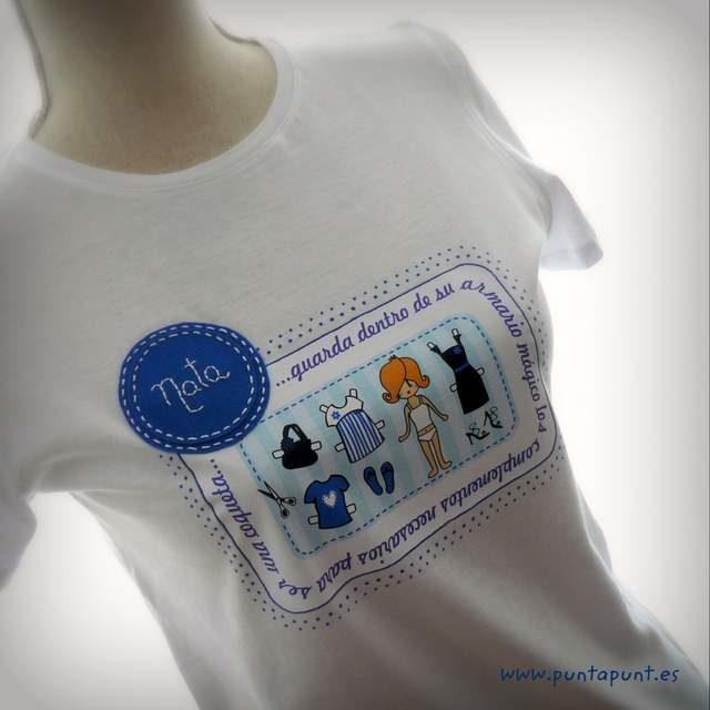 camiseta armario magico transferible personalizada 004