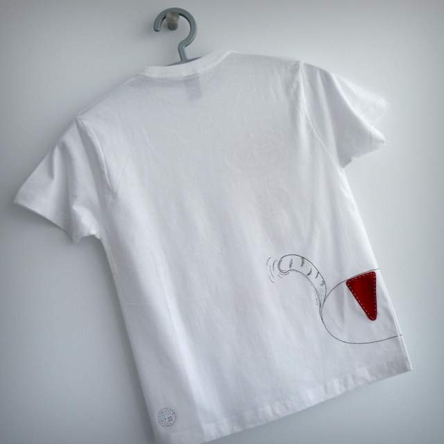 camiseta artesania personalizada fieltro fashion victim-001