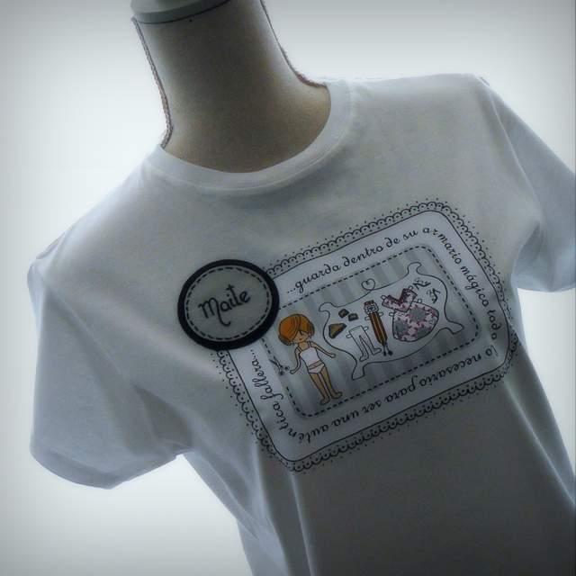 """Camiseta Fallera personalizada """"Armario Mágico"""""""