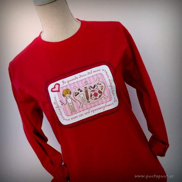 camisetas fallera artesanal sin personalizar con nombre 004