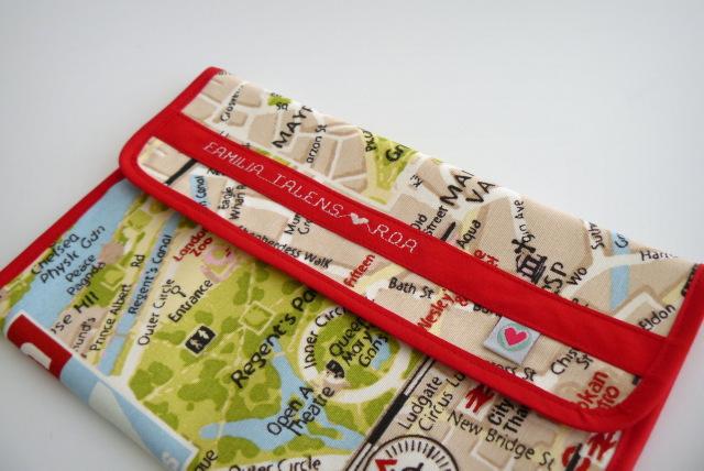 funda documentacion de viaje mevoy personalizada punt a punt