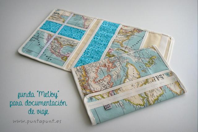 funda para documentacion de viaje artesanal mapamundi-001