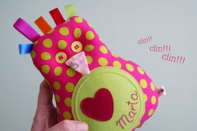 Peluche personalizado artesanal bebe 002
