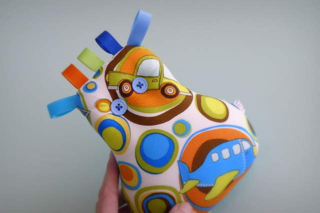 Peluche personalizado artesanal bebe 004