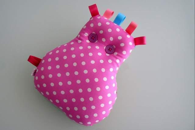 Peluche personalizado artesanal bebe 013