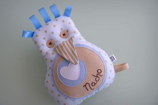 Peluche personalizado artesanal bebe 015