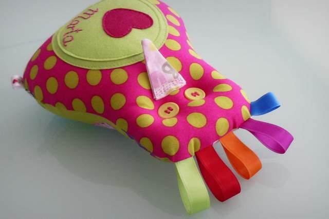 Peluche personalizado artesanal bebe