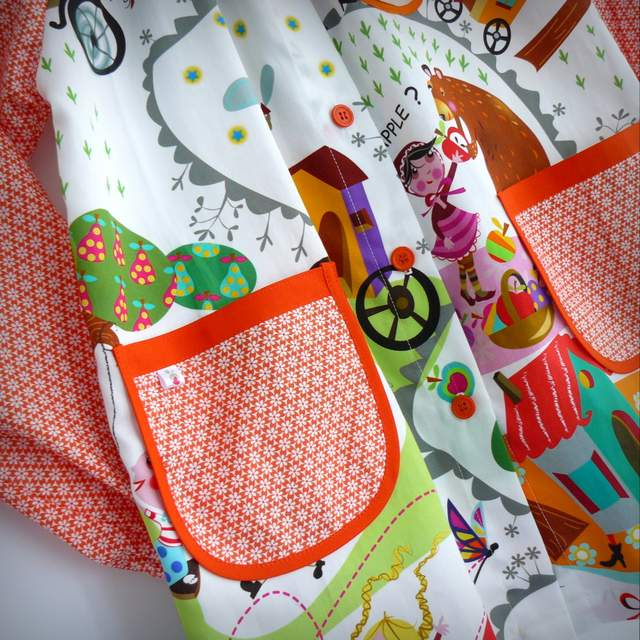 bata escolar infantil babero artesanal personalizado-021