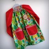 bata escolar infantil babero artesanal personalizado-034