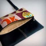bolso bandolera para mujer con tejano o simil piel-002