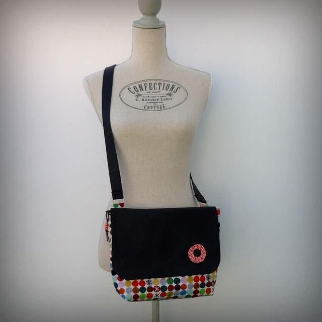bolso bandolera para mujer ligero artesanal personalizado