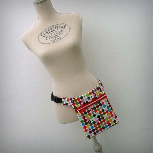 bolso de cintura para artesanal 002