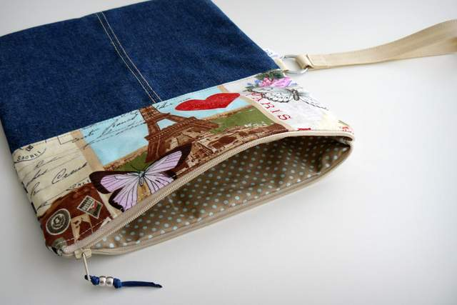 bolso de mano para mujer artesanal personalizado clutch-001