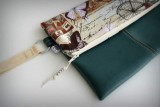 bolso de mano para mujer artesanal personalizado clutch-005