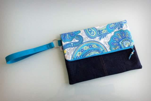 bolso de mano para mujer artesanal personalizado clutch-011